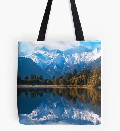 Lake Matheson, New Zealand Tote Bag