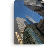 Manhattan Geometry - a Vertical View Canvas Print