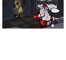 Jurassic Park Santa by Calum Morrison