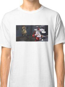 Jurassic Park Santa Classic T-Shirt