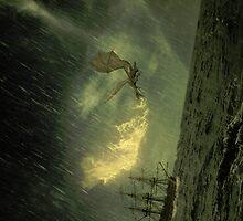 Dragon attack by Danielbk94