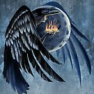 Moon Raven woman by SFDesignstudio