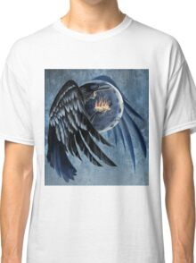 Moon Raven woman Classic T-Shirt