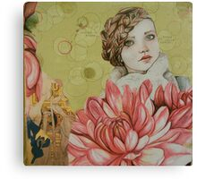 always happy girl Canvas Print