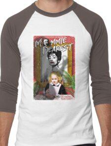 Mommie Dearest. Faye Dunaway. Joan Crawford. Men's Baseball ¾ T-Shirt