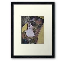 even though we were two women, we often saw out of the same eye Framed Print
