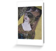 even though we were two women, we often saw out of the same eye Greeting Card
