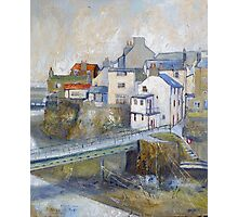 Looking Down to The Bridge, Staithes Photographic Print