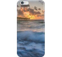 Rough Seas at Dawn iPhone Case/Skin