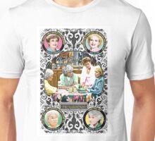Golden Girls. Blanche, Rose, Dorothy and Sophia. Unisex T-Shirt