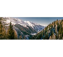 Valley in South Tirol Photographic Print