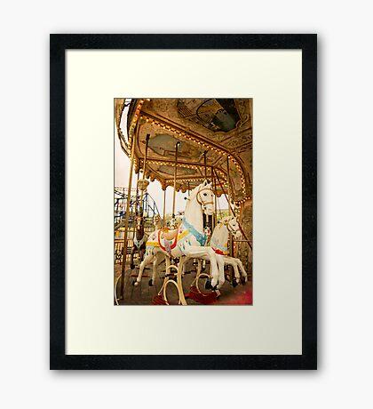 Ride the Wild Pony Framed Print