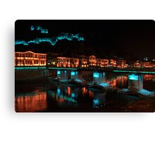 Colors of night Canvas Print