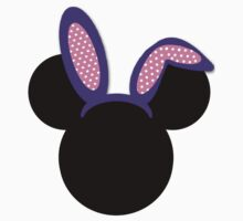 Minnie Mouse Purple Easter Bunny Ears by MamaMiaDesign