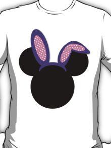 Minnie Mouse Purple Easter Bunny Ears T-Shirt