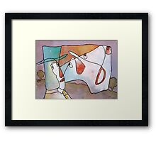 The Bore Framed Print