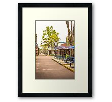 Old Town Kissimmee Framed Print