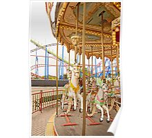 Old Town Merry Go Round Poster
