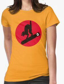 413th Bomb Squadron Emblem Womens Fitted T-Shirt