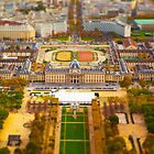 Paris Miniature (Tilt Shift) by Tess Masero Brioso