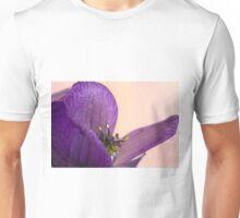 Purple Aconitum Napellus Unisex T-Shirt