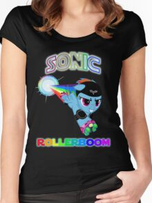 Rollerboom Too Women's Fitted Scoop T-Shirt