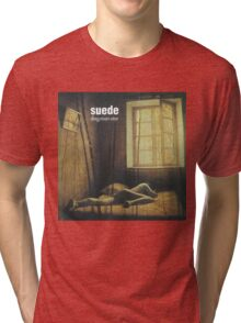 Suede - Dog Man Star Tri-blend T-Shirt