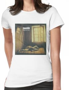 Suede - Dog Man Star Womens Fitted T-Shirt