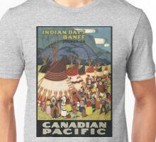 Vintage poster - Indian Days Unisex T-Shirt
