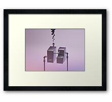 Machine Lungs Framed Print