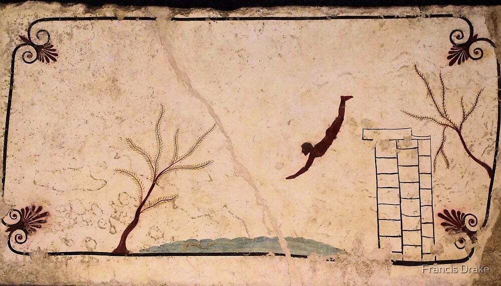 Paestum-The Diver by Francis Drake