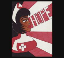 Nurse Laura sun rays of Hope by Ronald Woods