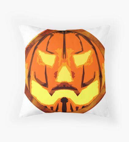 Jack o lantern Throw Pillow