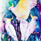 Cockatoo parrot by Slaveika Aladjova