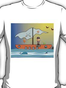 The Pirate ship T-Shirt