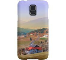 Country road in amazing panorama | landscape photography Samsung Galaxy Case/Skin