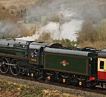 71000 Approaching Highley Station by velo