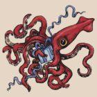 Birthday Squid by joykolitsky