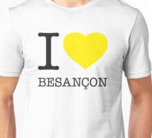I ♥ BESANCON Unisex T-Shirt