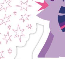 Princess Twilight Sparkle Star Vomit Sticker