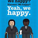My Pulp Fiction lego dialogue poster by Chungkong