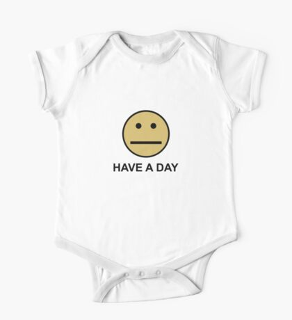 Have a day One Piece - Short Sleeve