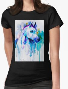 Arabian horse Womens Fitted T-Shirt