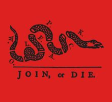 Wolfpack Join Or Die by ONE WORLD by High Street Design