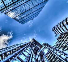 Lloyd's Of London and Leadenhall Building by DavidHornchurch