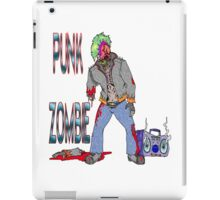 Punk Zombie iPad Case/Skin