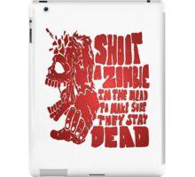 Shoot in the head iPad Case/Skin