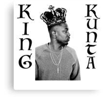 "Kendrick Lamar ""King Kunta"" Canvas Print"