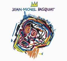 Jean Michel Basquiat Head Version 2 by tiffani revels
