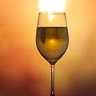 A sunset in my wine... by Aimee Stewart